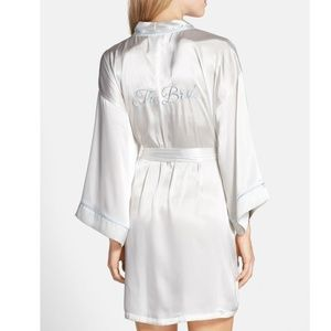 In Bloom by Jonquil White 'For the Bride' Robe